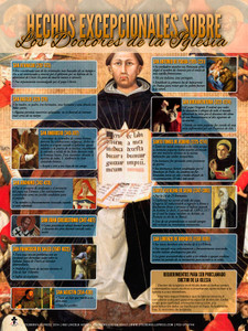 Spanish Unusual Facts About the Doctors of the Church Poster