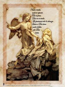 Spanish St. Teresa of Avila Poster