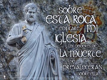 Spanish St. Peter Poster