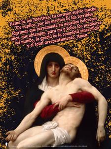 Spanish Pieta Poster