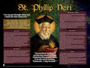 St. Philip Neri Explained Poster