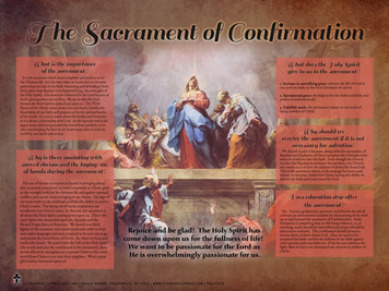 The Sacrament of Confirmation Explained Poster