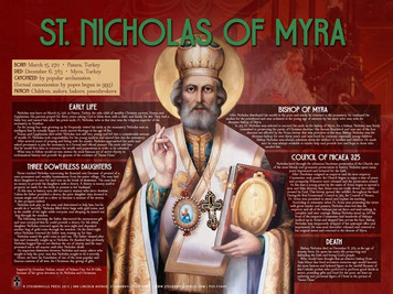 St. Nicholas of Myra Explained Poster