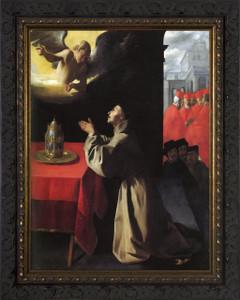St. Bonaventure - Ornate Dark Framed Art