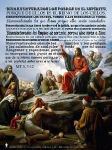 Spanish Beatitudes Poster