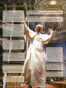 Spanish Unusual Papal Facts Explained Poster