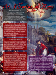 St. Valentine of Rome Explained Poster