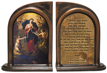 Mary, Undoer of Knots Pope Francis' Prayer Bookends