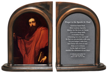 """De Saint Paul"" by Ribera Bookends"
