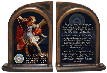 St. Michael Coast Guard II Bookends