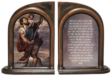 St. Christopher Bookends