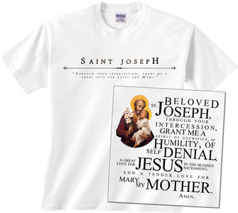 St. Joseph Full Color T-Shirt