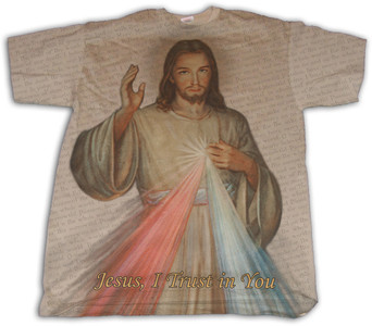 Divine Mercy Full Color Shirt