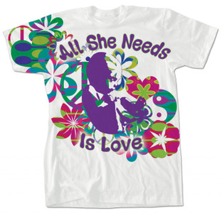 """""""All She Needs Is Love"""" T-Shirt"""
