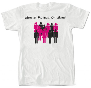 Mother of Many T-shirt White
