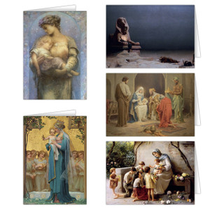 Madonna and Child Christmas Card Set (25 Cards)