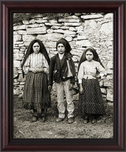 Children of Fatima Framed Art