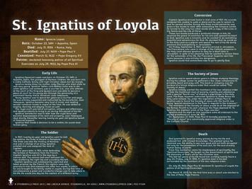 Saint Ignatius of Loyola Explained Poster