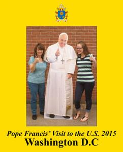 Pope Francis Washington D.C. Visit 7x5 Vertical Photo Matte