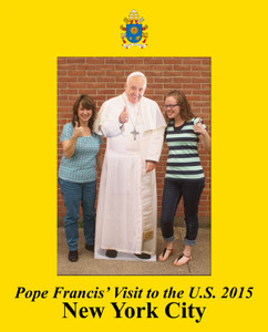 Pope Francis New York City Visit 7x5 Vertical Photo Matte