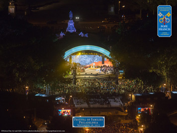 Festival of Families Aerial Commemorative Print