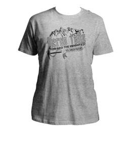 Verso L'Alto: Bl. Giorgio Frassati Quote Grey T-Shirt
