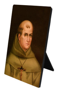 St. Junipero Serra Desk Plaque