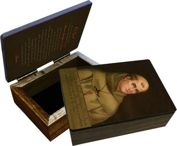 St. Junipero Serra Keepsake Box