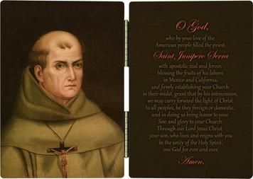 St. Junipero Serra Diptych