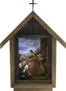 Bertucci Stations of the Cross Handcrafted Deluxe Outdoor Shrine (Set of 14)