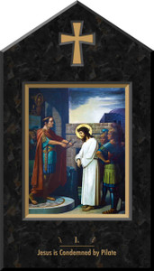 Emmerich Indoor Station of the Cross Icon Plaques (Set of 14)