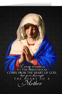 Marian Ordination Greeting Card