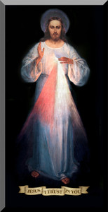 Divine Mercy Vilnius Original Wall Plaque