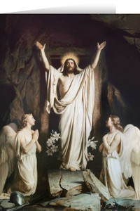 The Resurrection by Bloch Easter Season Greeting Card