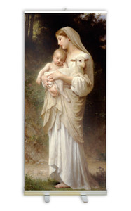 L'Innocence by Bouguereau Banner Stand