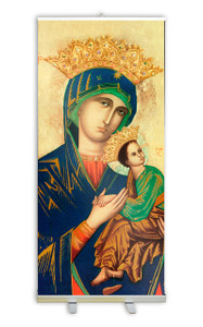 Our Lady of Perpetual Help Banner Stand