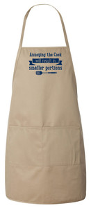 Annoying the Cook Apron (Natural)