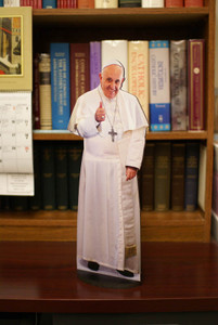 Pope Francis Thumbs Up Standee