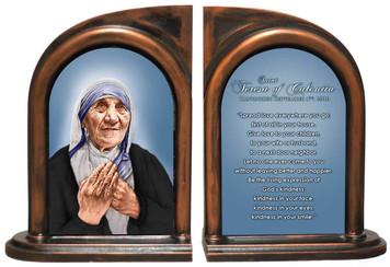 St. Teresa of Calcutta Quote Bookend