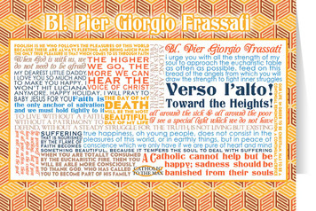 Blessed Pier Giorgio Frassati Quote Card