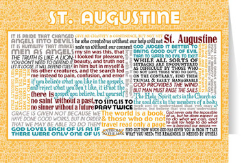 Saint Augustine Quote Card