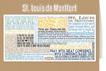 Saint Louis de Montfort Quote Card
