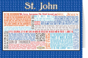 Saint John Quote Card