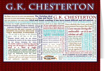 G.K. Chesterton Quote Card