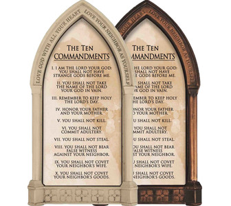 The Ten Commandments Home Doorpost Blessing