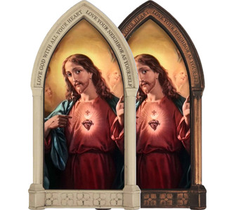 Sacred Heart of Jesus Home Doorpost Blessing