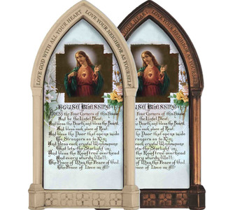 Sacred Heart Prayer Home Doorpost Blessing