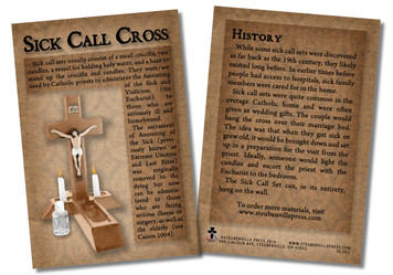 Sick Call Cross Faith Explained Card - Pack of 50
