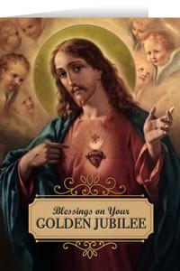 Sacred Heart Golden Jubilee Greeting Cards