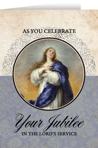 Immaculate Conception Jubilee Greeting Cards